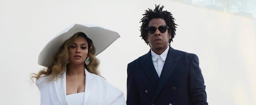 Beyoncé and JAY-Z at the 2019 NAACP Image Awards
