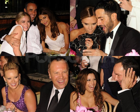 Photos of Ashley Olsen, Eva Mendes, Victoria Beckham, Eva Longoria at the CFDA Dinner Party