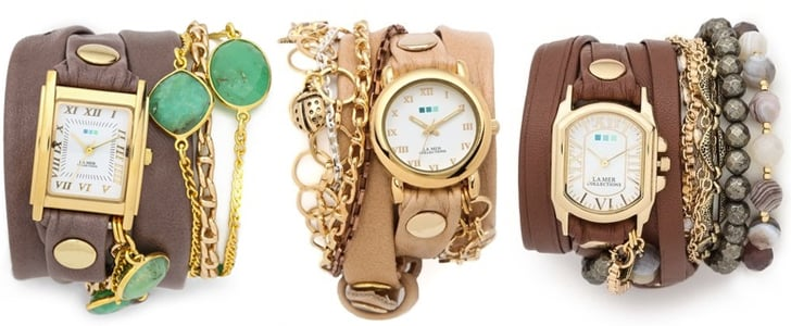 La Mer Arm Candy Watches With Beaded Bracelets