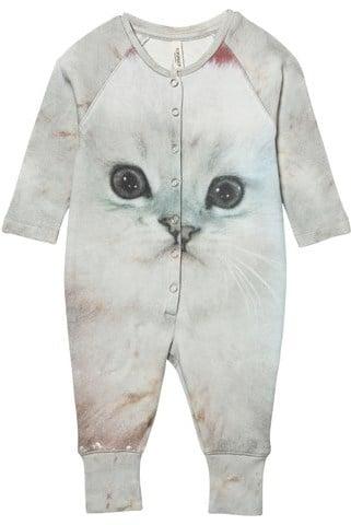 Popupshop Fluffy Cat Onesie ($70)