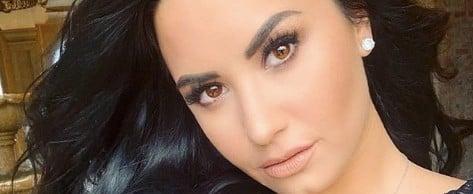 Demi Lovato Microblading