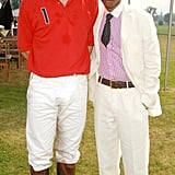 Prince William met Pharrell Williams in July 2006 at the Audi Polo Challenge in Midhurst, England.