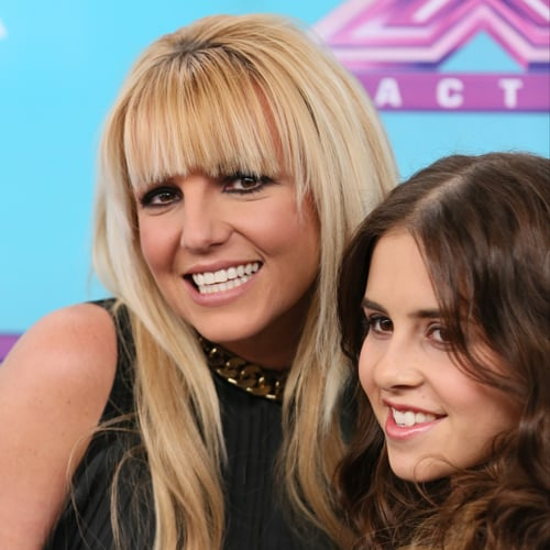 Britney Spears at X Factor Finale Press Conference 2012