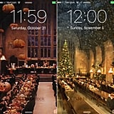 All screensavers go into Christmas mode on Nov. 1.