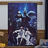 Star Wars Retro Mural