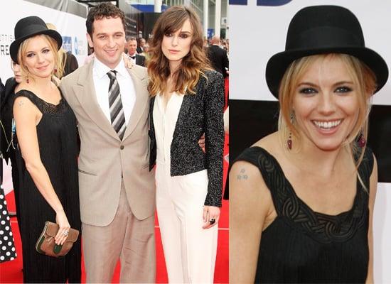 Sienna Miller, Keira Knightley, Sean Connery and Matthew Rhys At Edinburgh International Film Festival For The Edge Of Love