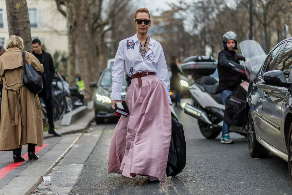 Street Style Haute Couture Fashion Week Spring 2016 Popsugar Fashion