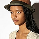 Urban Outfitters Colorblock Braided Straw Fedora ($29)