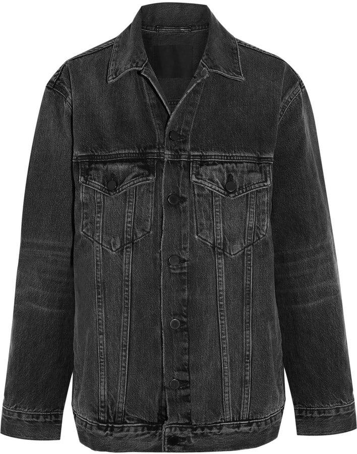 Alexander Wang Daze Oversize Denim Jacket ($450)