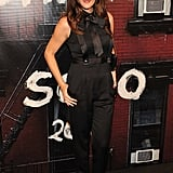 Liv Tyler stuck to fashion's favourite colour – black!