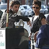 Halle Berry Treats Olivier Martinez to a Birthday Lunch and Preps For a Golden Weekend
