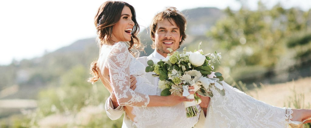 Look Back at Nikki Reed and Ian Somerhalder's Stylish Wedding