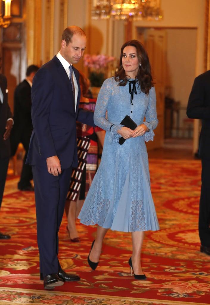 Kate Middleton at World Mental Health Day Reception 2017