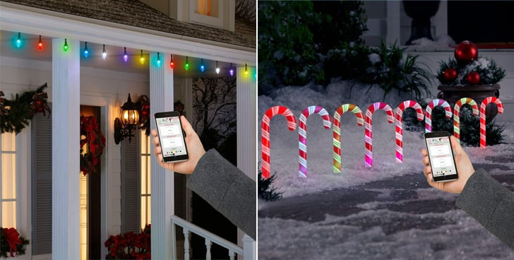 LightShow AppLights and LED Candy Cane Pathway