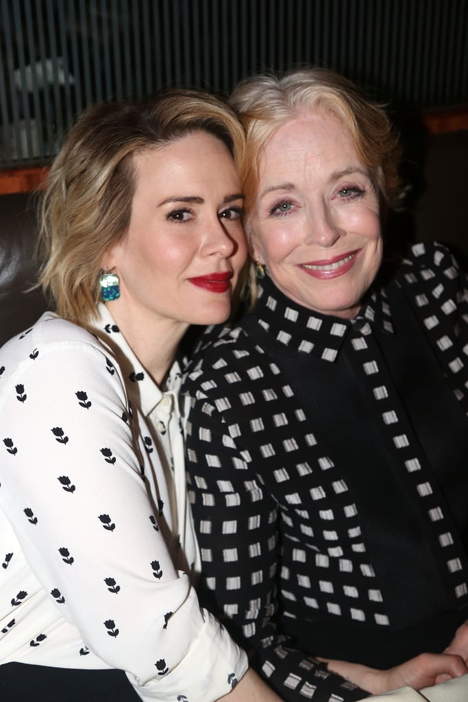 """Holland Taylor and Sarah Paulson might have only started dating last year, but the celebrity couple has already packed in quite a few cute moments. Although they originally met at a dinner party over a decade ago, they didn't start dating until the end of 2015. Holland said their romance was """"the most wonderful, extraordinary thing that could have ever possibly happened in my life,"""" and Sarah echoed her sentiment in an interview with The New York Times, calling Holland """"the most exquisitely beautiful woman I'd ever seen."""" From their adorable Twitter interactions to the sweet way they look at each other, it's no wonder the pair has quickly become one of our favorites.        Related:                                                                Sarah Paulson Confirms Her Romance With Holland Taylor: """"I'm in Love""""                                                                   Sarah Paulson and Holland Taylor Hold Hands During a Sweet LA Stroll"""