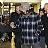 Johnny Depp Takes His Tourist Travels To Rome