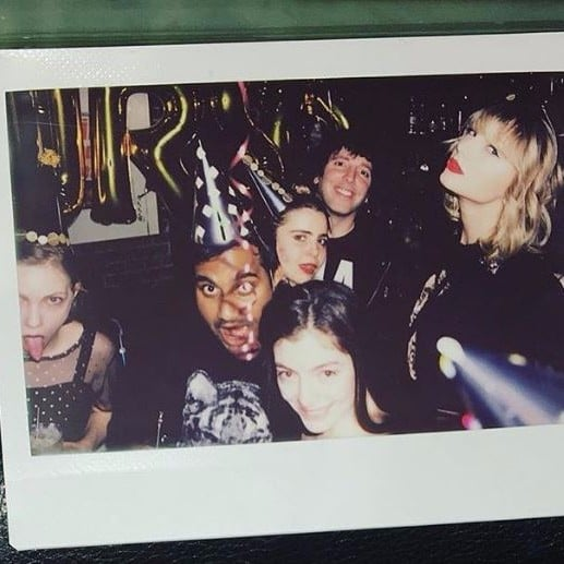 Taylor Swift Lorde 20th Birthday Party