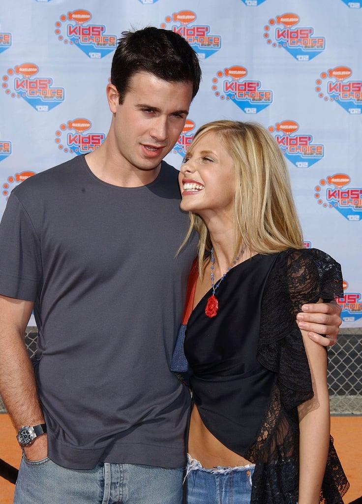 April 2002 | Sarah Michelle Gellar And Freddie Prinze Jr ...  April 2002 | Sa...
