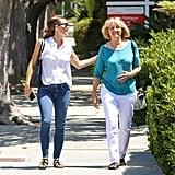 Jennifer Garner and Ben Affleck's Mom Out in LA August 2017