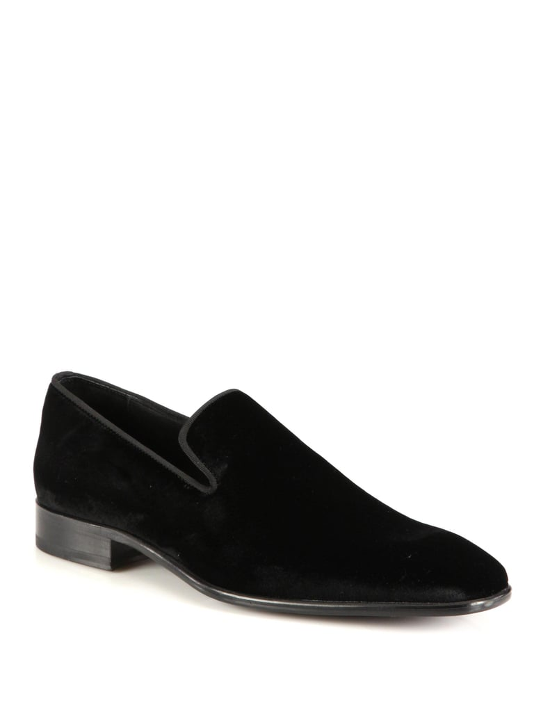 Velvet Smoking Loafers