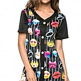 Emoji Fun Baseball Shirt Dress ($30)
