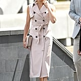 Meghan's House of Nonie Trench Dress
