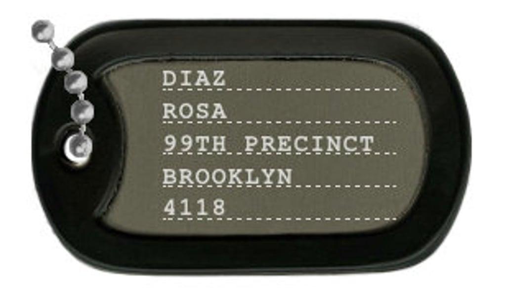 Brooklyn Nine-Nine Dog Tags