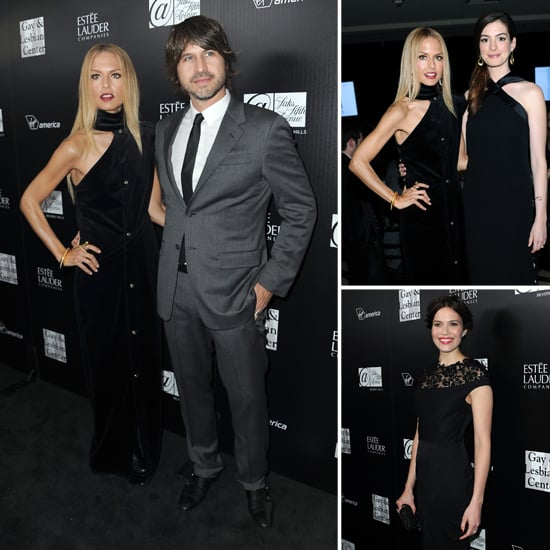 Rachel Zoe, Anne Hathaway and Mandy Moore Pictures at Gay and Lesbian Benefit