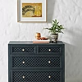 Jali-Carved Four-Drawer Dresser