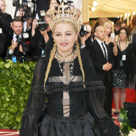 Madonna at the 2018 Met Gala Photos