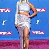 Bebe Rexha at 2018 MTV VMAs