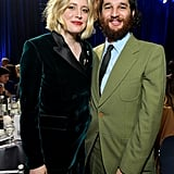 Greta Gerwig and Josh Safdie at the 2020 Critics' Choice Awards