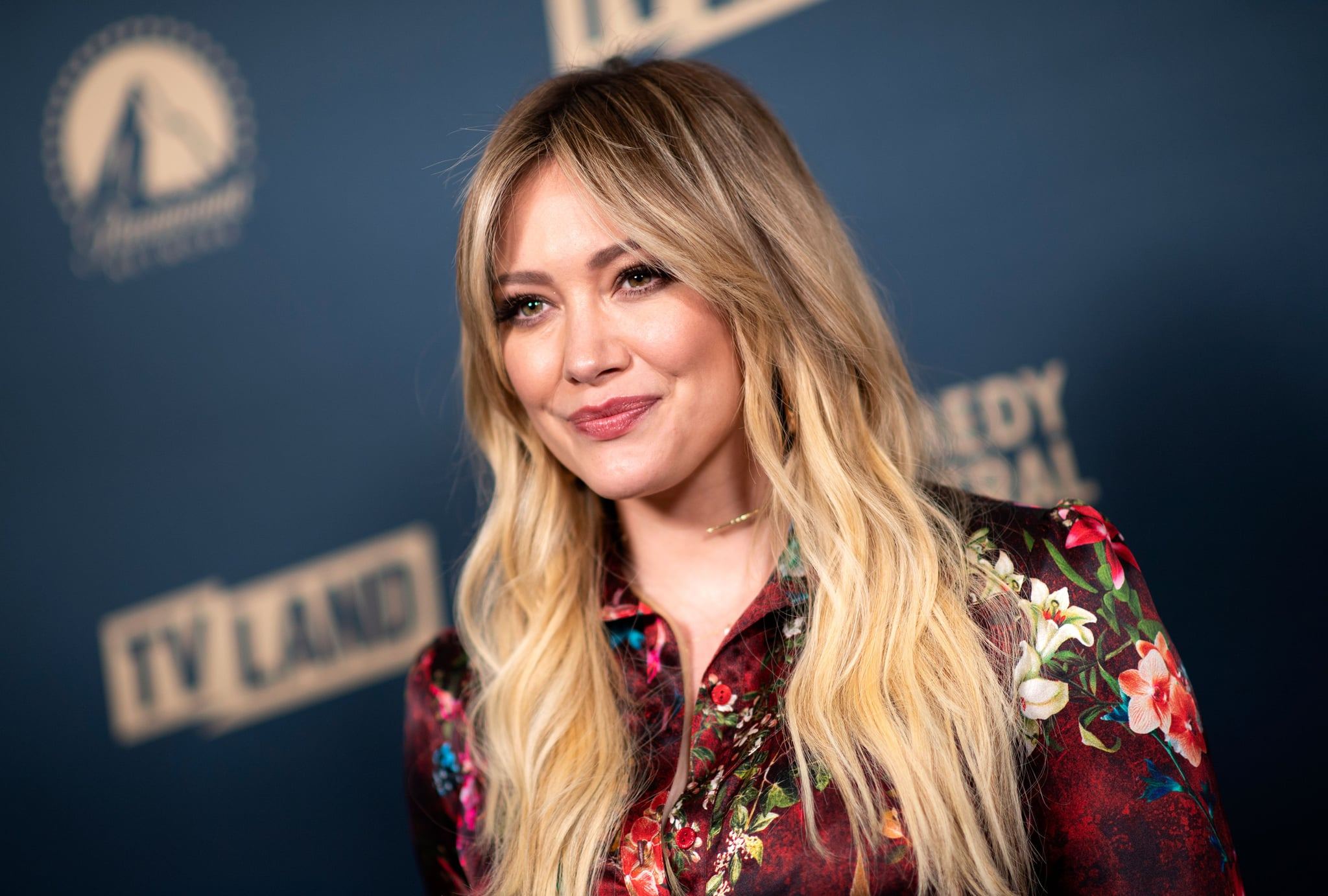 US actress Hilary Duff attends the first Comedy Central, Paramount Network and TV Land Press Day, on May 30, 2019 in Los Angeles, California. (Photo by VALERIE MACON / AFP)        (Photo credit should read VALERIE MACON/AFP/Getty Images)