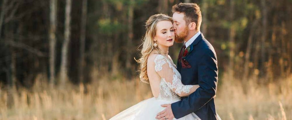 This Impressive Couple DIYed Every Part of Their Woodsy Winter Wedding
