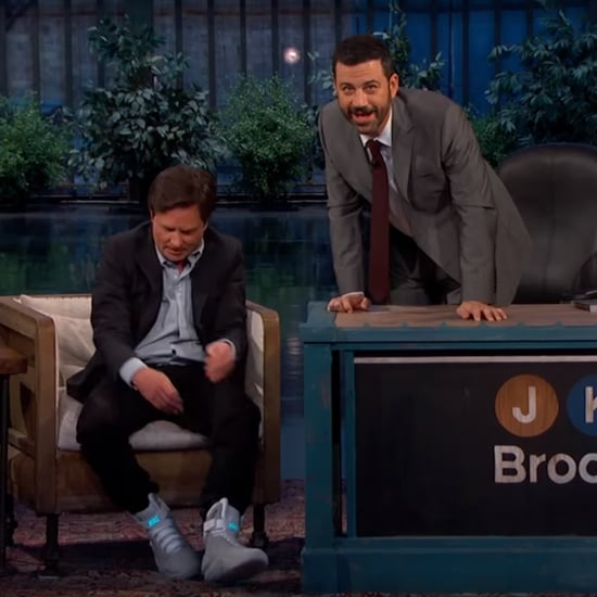Michael J. Fox on Jimmy Kimmel Live October 2015