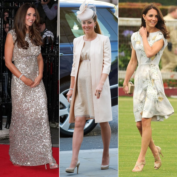 Kate Middleton in Jenny Packham Dresses