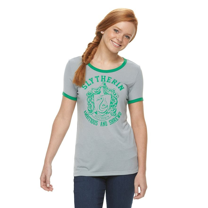 Slytherin Ringer Tee ($16, originally $24)