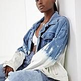 Urban Renewal Remade Dip-Dyed Denim Jacket