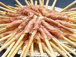 Prosciutto Truffle Butter Breadsticks