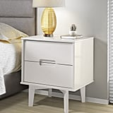 Cecille Groove Handle 2 Drawer Nightstand