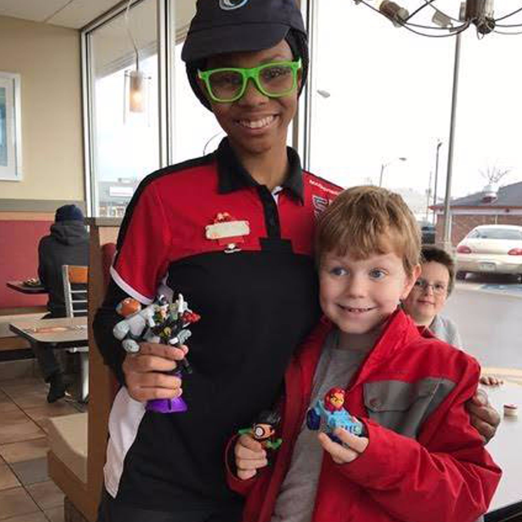 Cashier at McDonald s Gives Toys to Boy With Autism