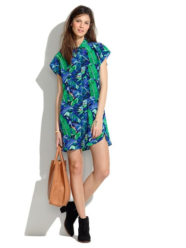 This Whit leaf-print button-down dress ($168, originally $298) is sure to make your Summer style exponentially more fresh. The mix of vibrant green and rich blue makes it one eye-catching purchase.