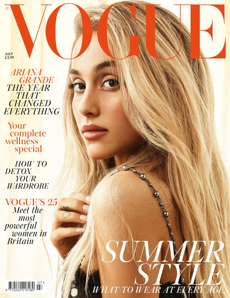 Ariana Grande Vogue UK Cover July 2018