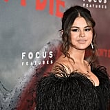 Selena Gomez's Low Bun and Nude Lip in June 2019