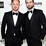 Aaron Paul and Chace Crawford