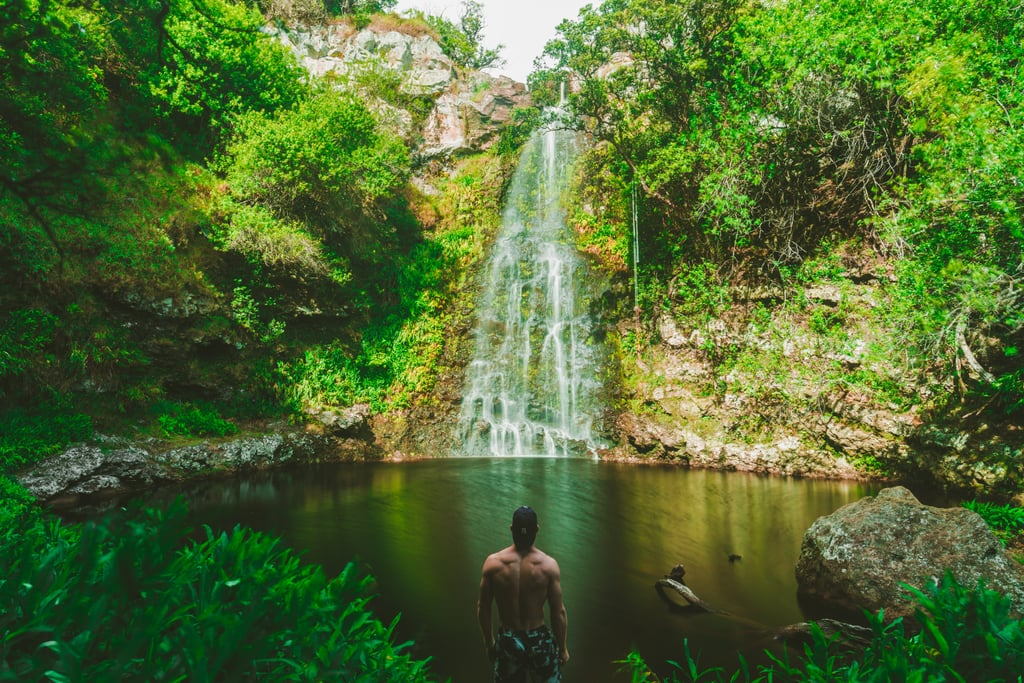 Discover unknown swimming holes.