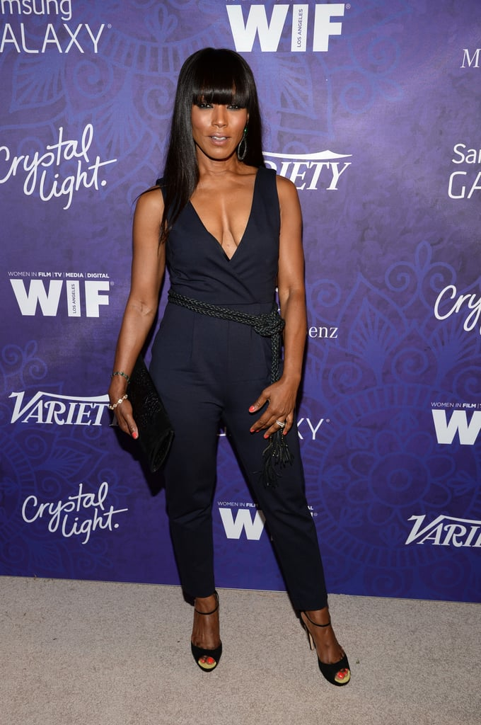 Angela Bassett looked flawless at Variety's party.