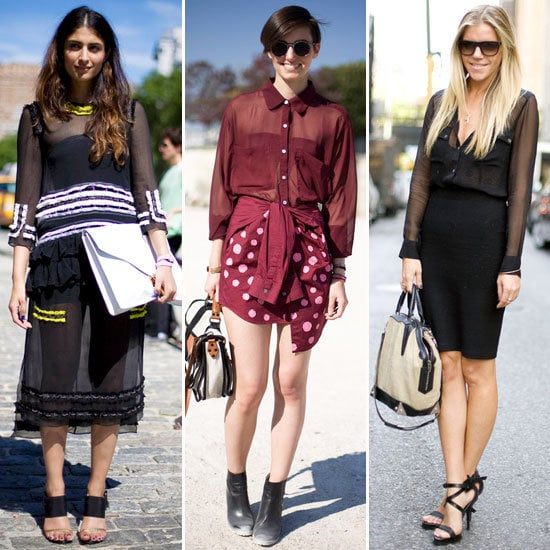 How To Wear Sheer Shirts, Skirts and Pants With Confidence