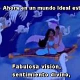 """Un Mundo Ideal,"" Aladdin"