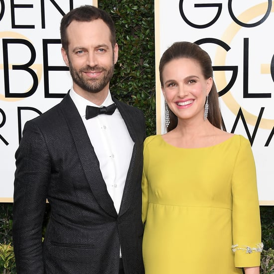 Pictures of Natalie Portman at the 2017 Golden Globe Awards
